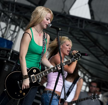 Live concert, The Tommys, Masters of Rock 2007 Stock Photo - 6890687
