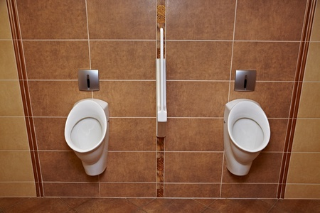 Two urinals in a toilet Stock Photo - 22108838
