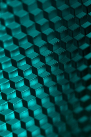 Abstract background pattern with cube shapes photo