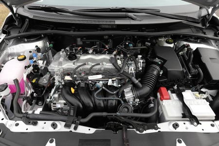 tuning: Detail of a car engine