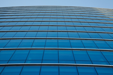 coporate: Modern office building detail, glass surface