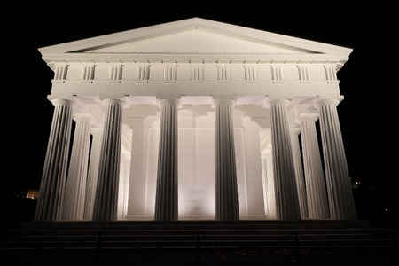 Architecture, old greek temple style Stock Photo - 26227206