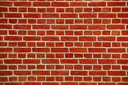 paredes de ladrillos: Bare pared de ladrillo textura de primer plano Foto de archivo