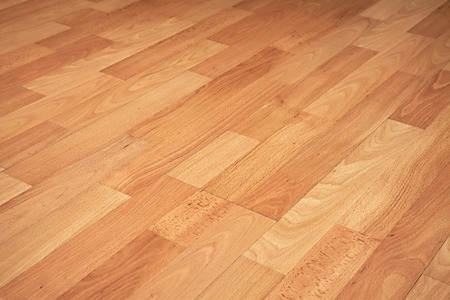 floor covering: Parquet texture of a room Stock Photo