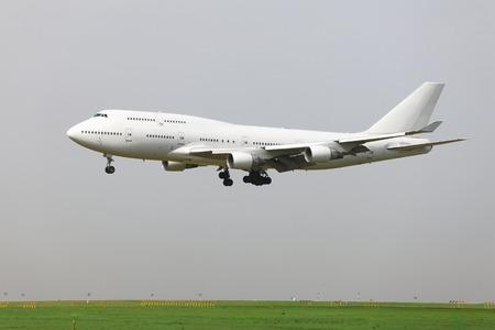 boeing 747: Atterraggio di un aereo di linea commerciale