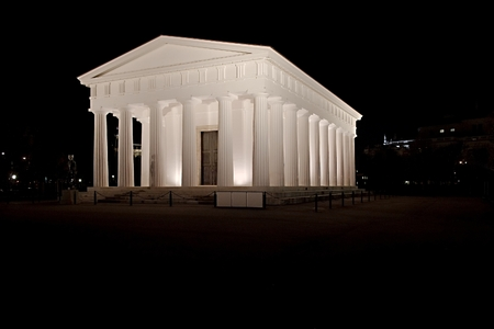 Architecture, old greek temple style photo