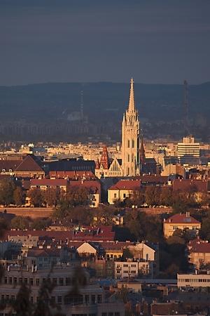 Budapest evening with the Mathias Church photo