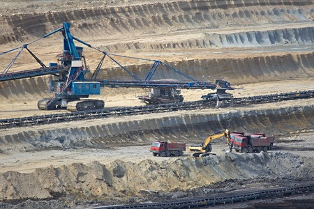 open source: Open pit mining of coal