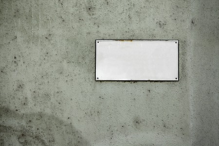 street name sign: Empty street name sign, add your own text Stock Photo