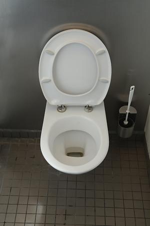 poo: Toilet in a public building
