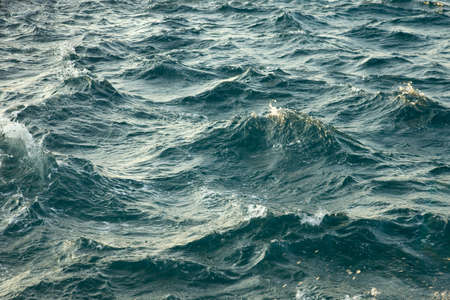 relentless: Waves of the stormy sea