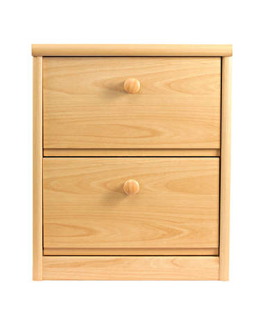 furniture store: Small drawer cabinet isolated on white background