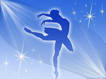 elasticity: Classical dancer dancing in the stars and in the light