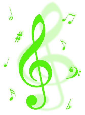 Music symbols, signs and notes to represent musical world Stock Photo - 4708747