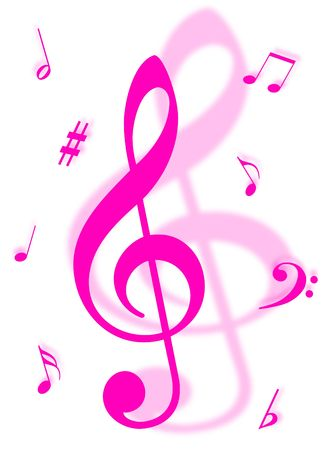 Music symbols, signs and notes to represent musical world Stock Photo - 5008061