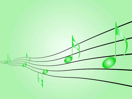 Music symbols, signs and notes to represent musical world Stock Photo - 5813414