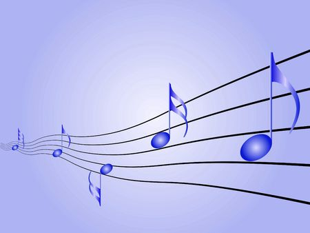 Music symbols, signs and notes to represent musical world Stock Photo - 6109628