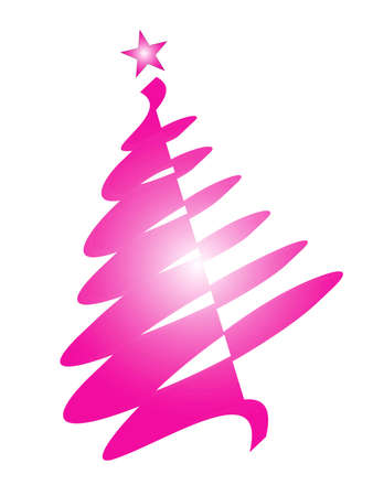 recurrence: Christmas tree and decorations as symbol of Christmas time