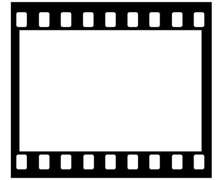 sprocket: Disegno del fotogramma di pellicola 35 mm con fori pignone originariamente disegnato in Illustrator, in modo che la struttura � fresco. Telaio standard ratio. Nessun numero di telaio (� possibile aggiungerle te!)