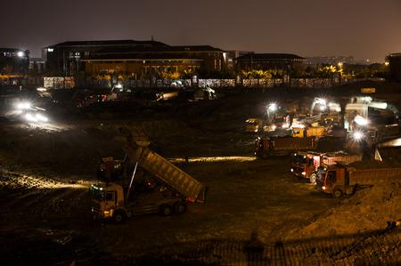 night school: construction site