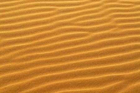 oceana: Pattern of golden sand on sand dune in California