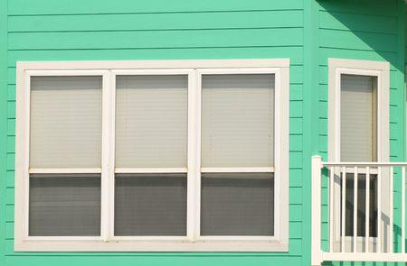 residence: The color exterior of a Pensacola Florida residence