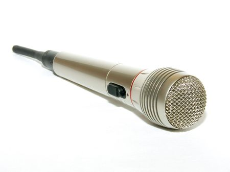 radio microphone: Radio micr�fono
