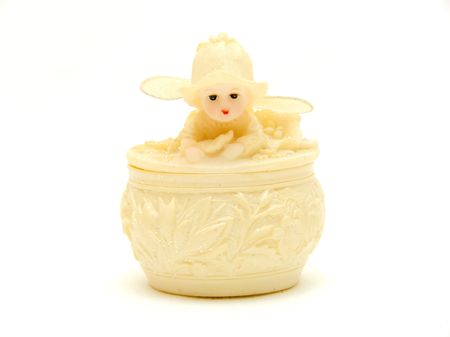 Small toy angel photo