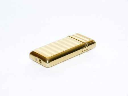 piezo-lighter for smokers or it is simple for ignition of fire Stock Photo