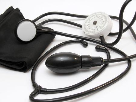 Phonendoscope and tonometer for gauging arterial pressure photo