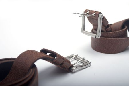 backstitch: fight of belts Stock Photo