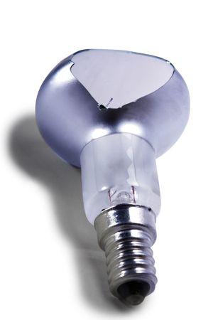 socle: brocken bulb 2 Stock Photo