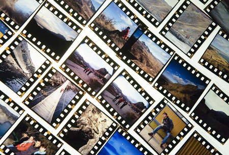 positives: diffirent photo slides