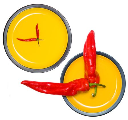 different pepper-clocks photo