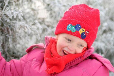 Portrait d'hiver  Banque d'images - 380526