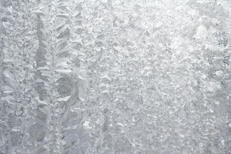 bedeck: Frozened window Stock Photo