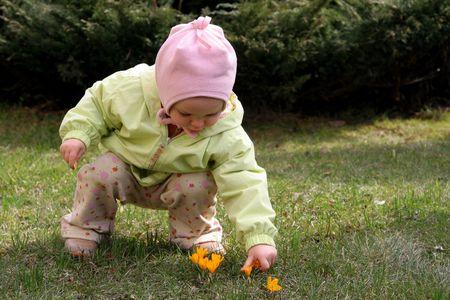 nose picking: Spring baby