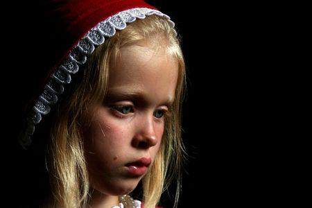 halter neck: Oude meisje