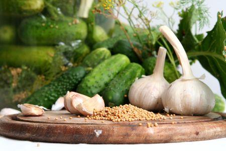 hoard: Pickle ingredients