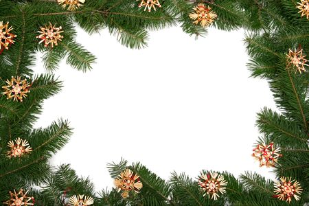 Christmas tree frame photo