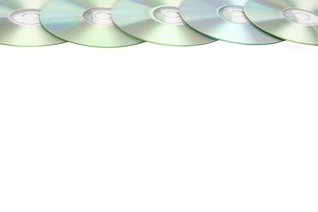 archival: Cd or DVD romes on a white Stock Photo