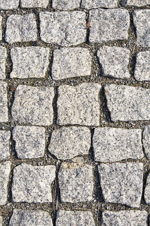 paving stone: Background. The grey  texture of granite pavement