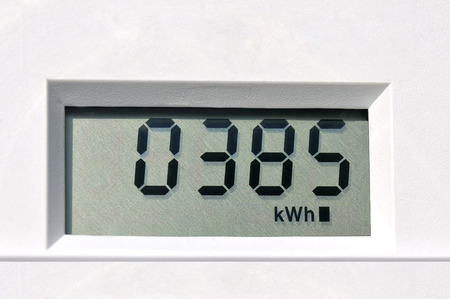 electric grid:  electric meter