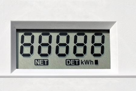 medidor eléctrico digital de