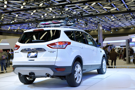 New Ford Escape shown at The Montreal International Auto Show  at the Palais des Congres de Montreal 46th Edition