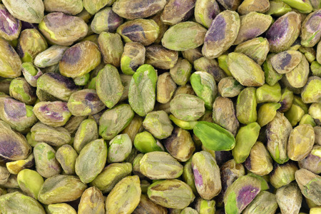 pistachios: Close-up of roasted pistachios