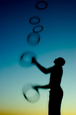 agility people: another twilight juggler in action