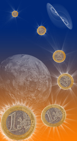 money cosmos: euro comet, starcoin euro as comet, star