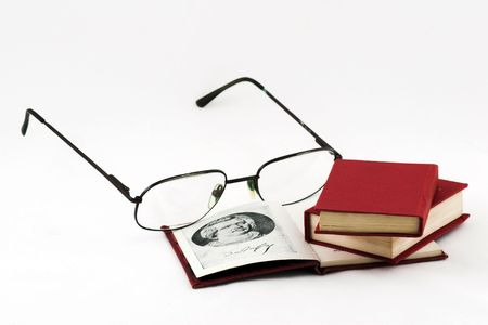 The reading of books this splendid hobby, the harm that is on this so little times Stock Photo - 658004