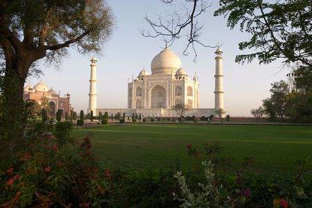 Taj Mahal, Agra, India Stock Photo - 278827